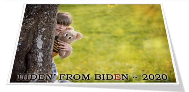 Hidin' from Biden