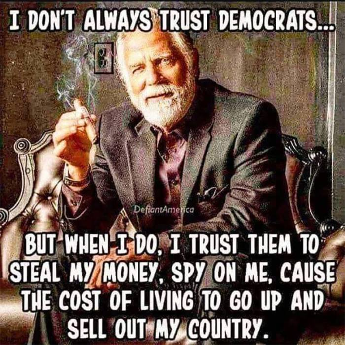 I don't always trust Democrats