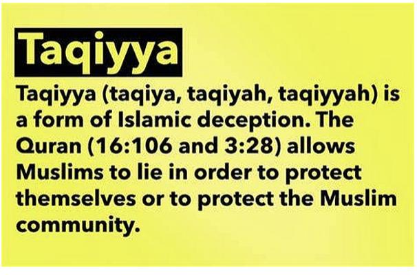 Ilhan Omar-Taqiyya