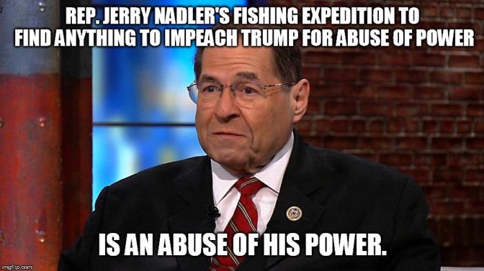 Nadler-abuse of power