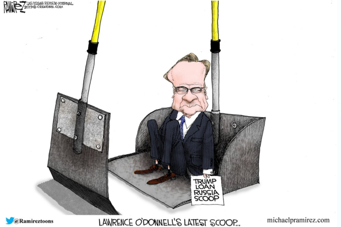 O'Donnell's latest scoop