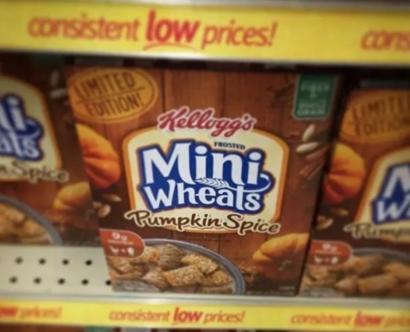 Punkin Spice mini-wheats