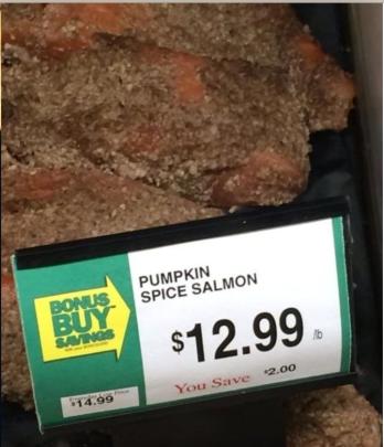 Punkin Spice Salmon