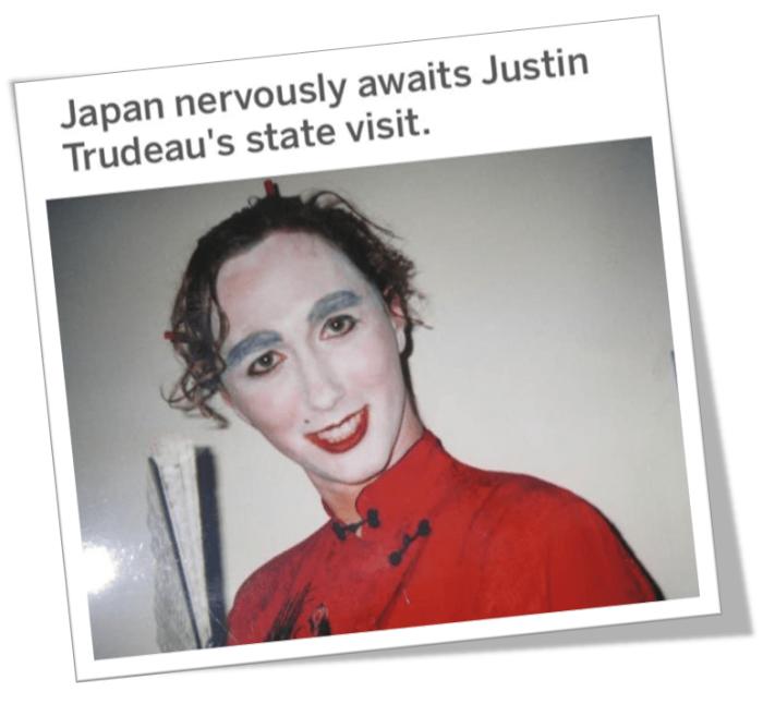 Trudeau-Japan
