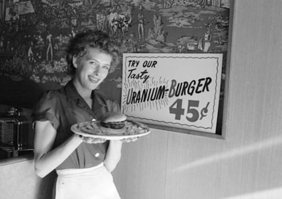 Uranium burger