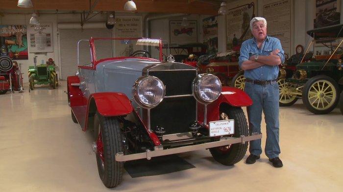 1925_Doble_E_20_Steam_Car_Jay Leno