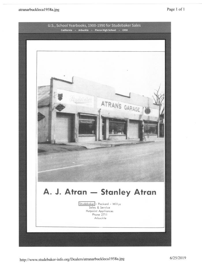 A. J. Atran's, 1958