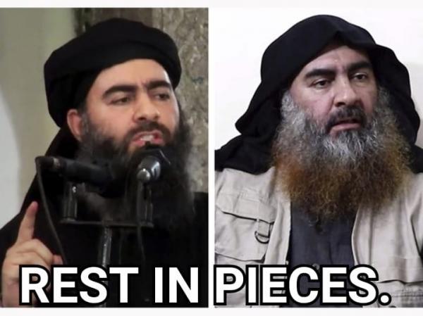al-Baghdadi-rest in pieces