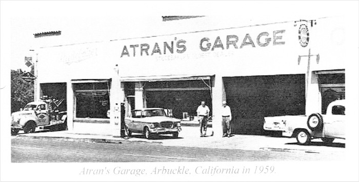 Atran's Garage, 1959