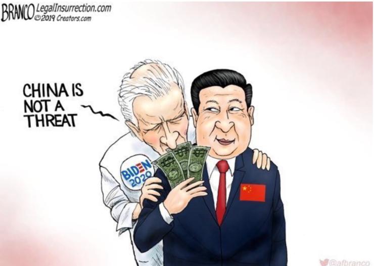 Biden-China is not a threat