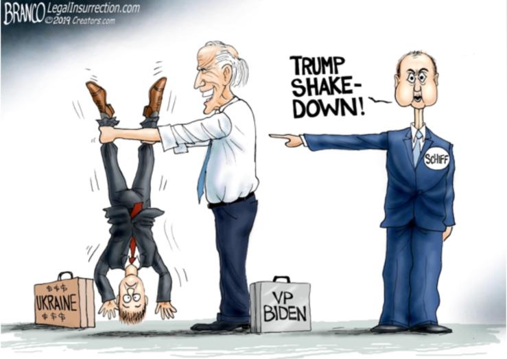 Biden shake down
