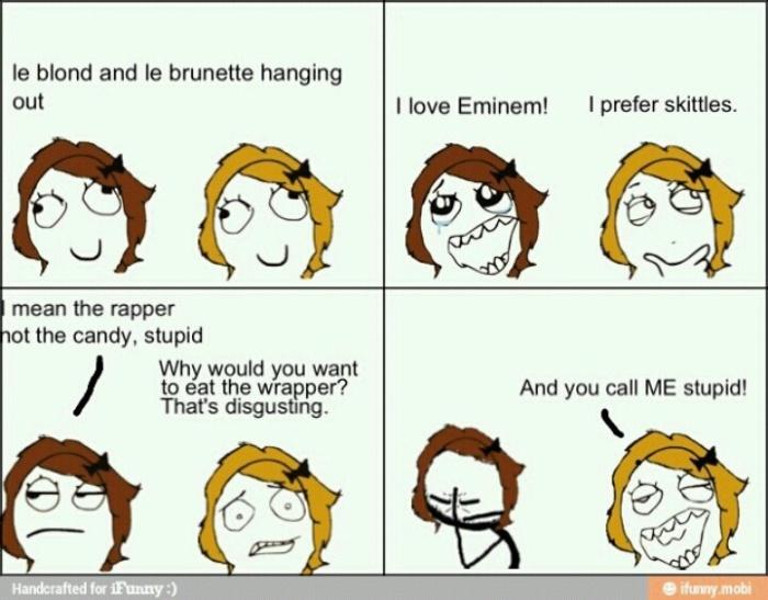 Blonde-Eminem-skittles