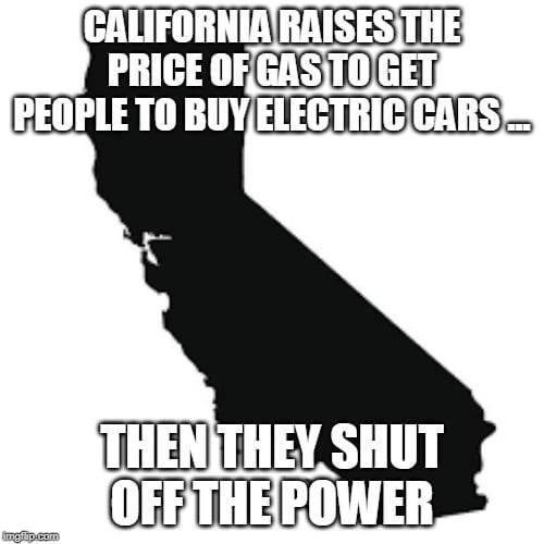 CA electric cars