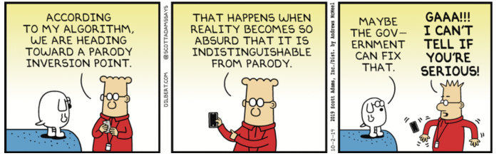 Dilbert-parody inversion