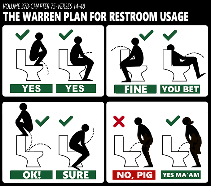 Fauxchahontas-bathroom-rules