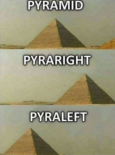 Know the difference: pyramid