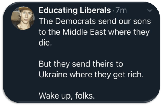 Libruls-sons to Ukraine