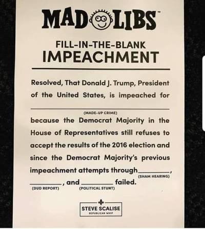 Mad libs-impeachment