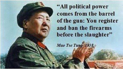Mao on political power