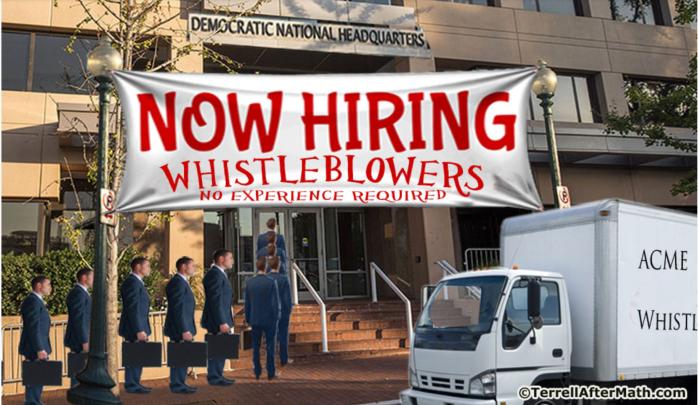 Now hiring whistleblowers