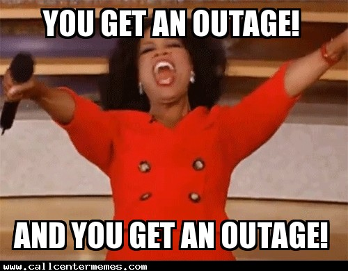 Oprah-outage