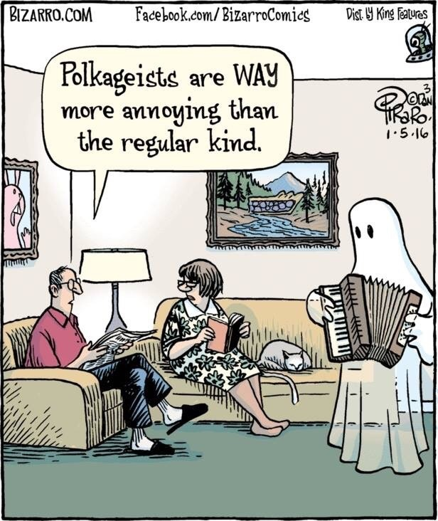 Polkageists