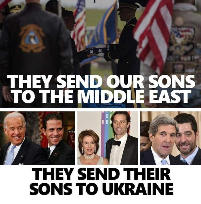 'Rats' sons to Ukraine