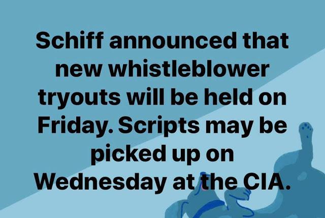 Schiff-Whistleblower tryouts