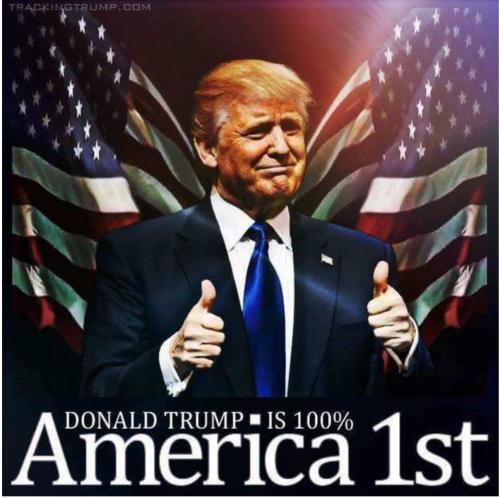Trump: 100% America First