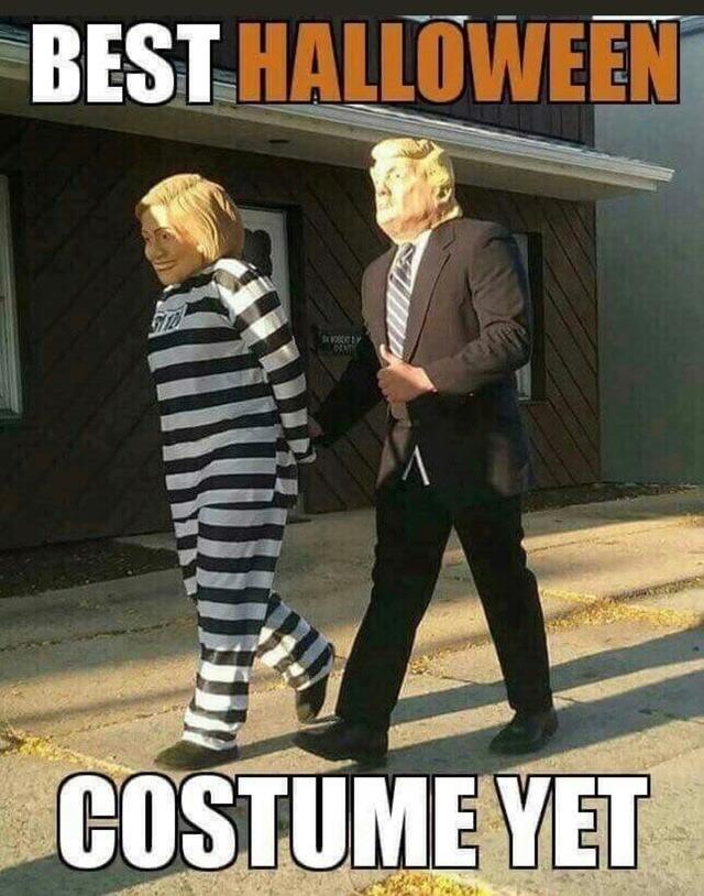 Trump-Hitlery-Best Halloween Costume yet
