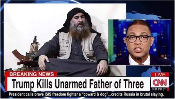 Trump kills unarmed father of three