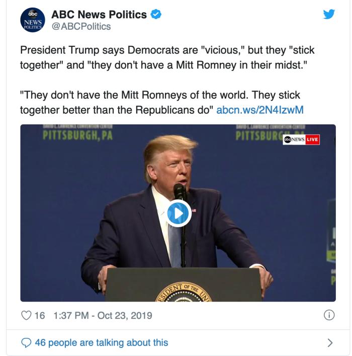 Trump on Romney