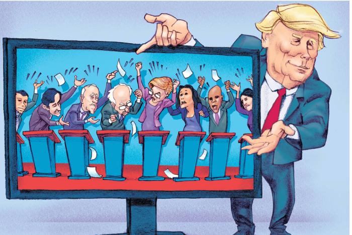 Trump vs. 'Rats in debate