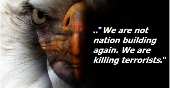 We are not nation building-we are killing terrorists