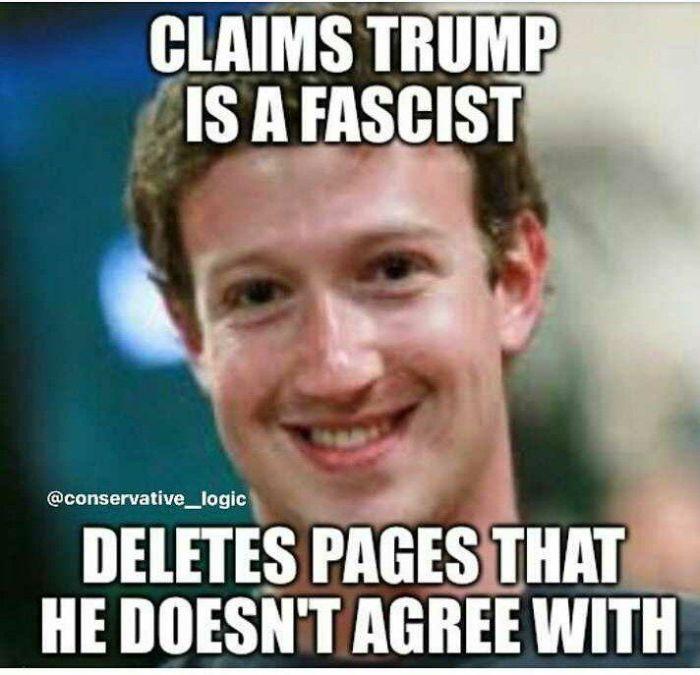 Zuckerberg-Trump-Fascist