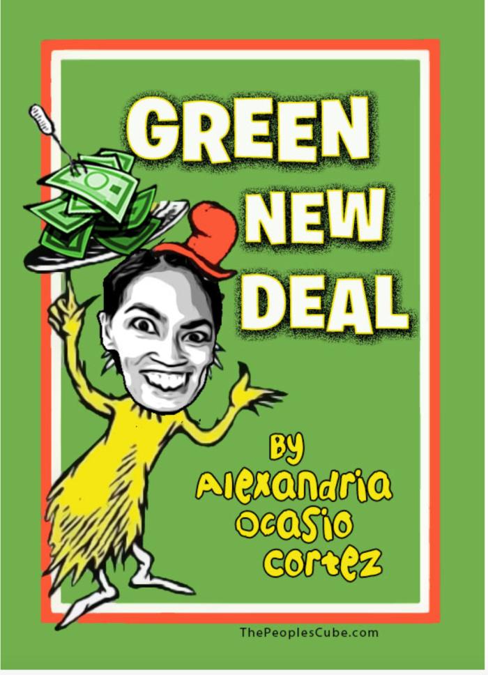 AOC-Green new deal-no ham