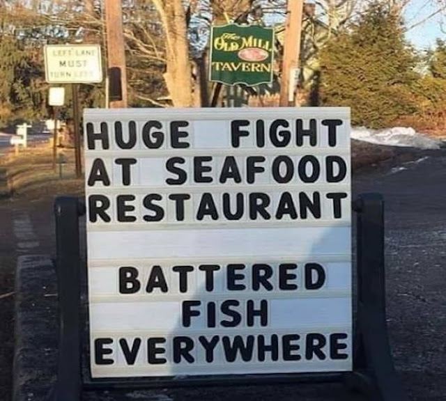 Battered fish