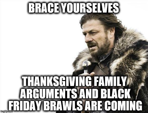 Black Friday brawls