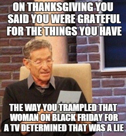 Black Friday-trampled