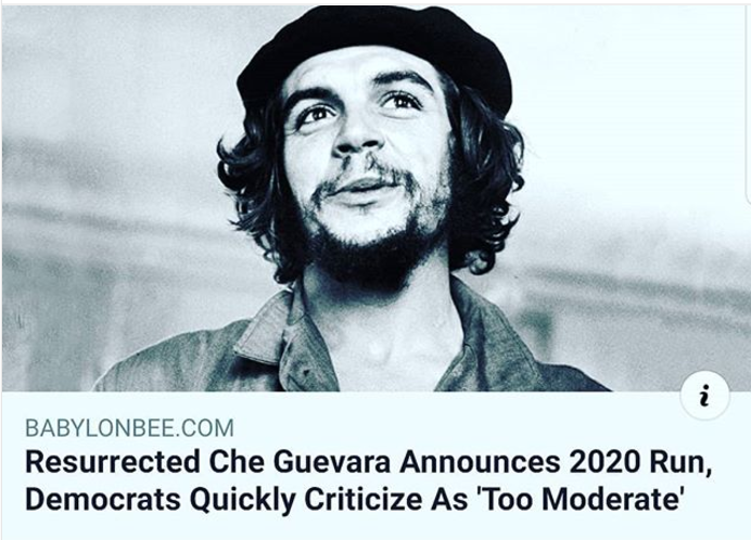 Che Guevara-too moderate