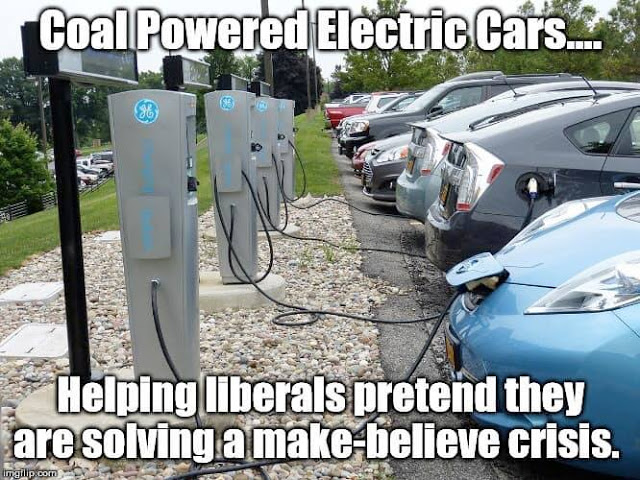coal powered electric cars