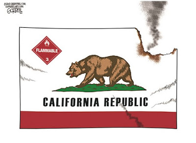 Crazifornia-up in smoke