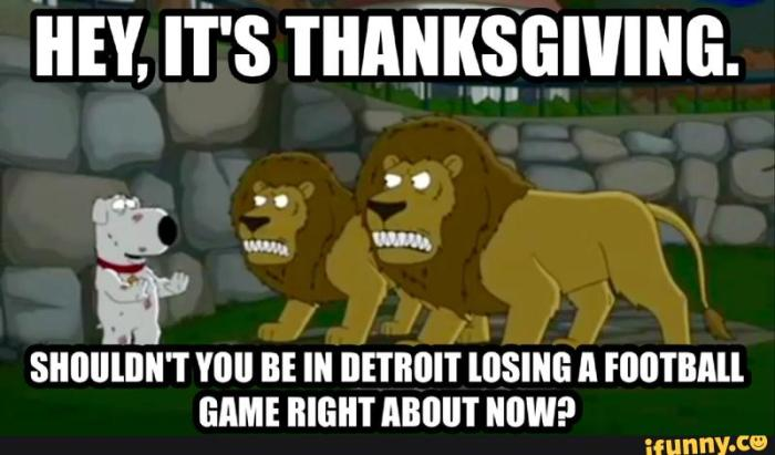 Detroit Lions-Thanksgiving
