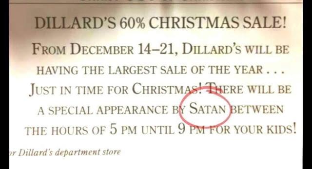 Dillard's-Satan