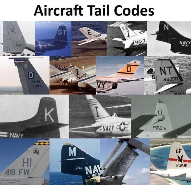 Epstein-Aircraft Tail Codes