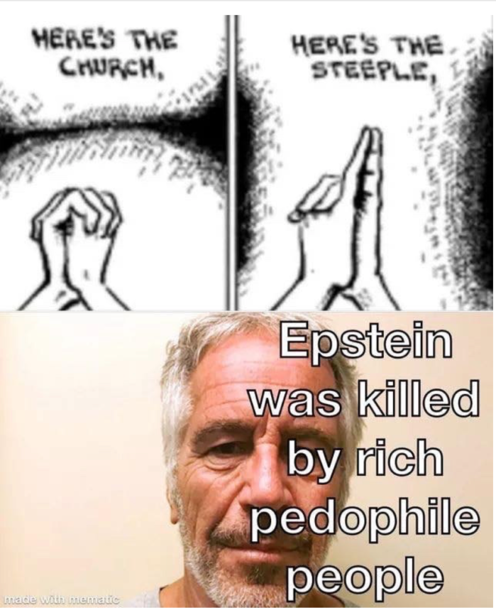 Epstein-here's the church