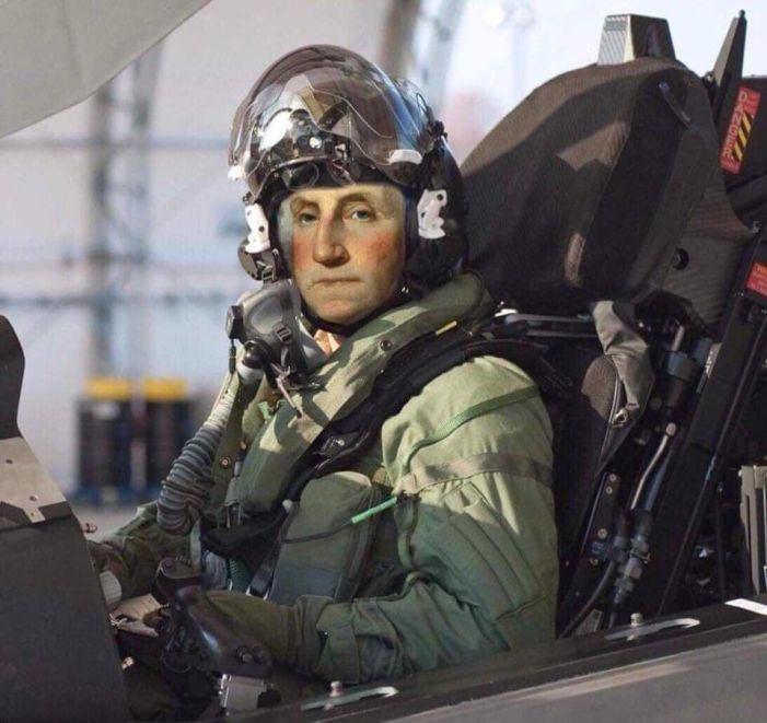 G. Washingtion-Fighter Pilot