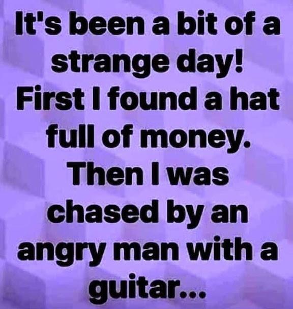 Hat full of money