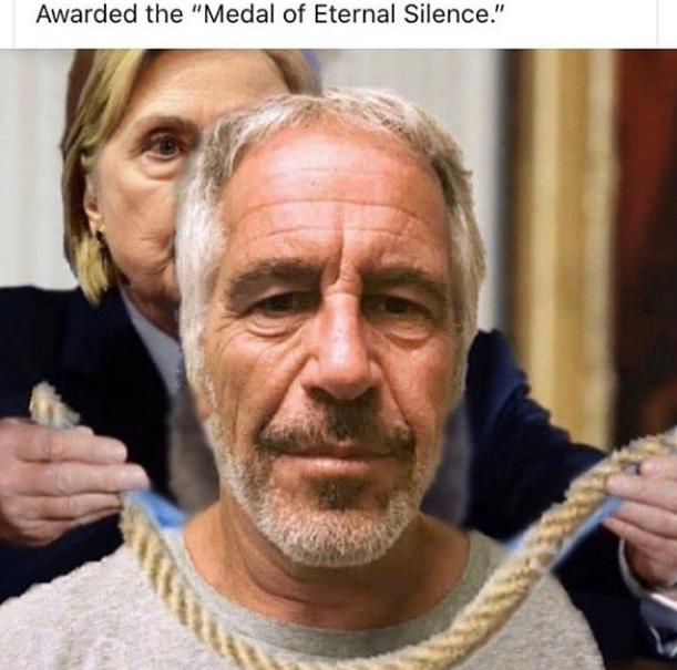 Hitlery-Epstein-Medal of Eternal Silence