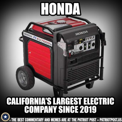 Honda-CA's largest electric company
